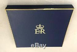 Solid Silver Queen Elizabeth II Silver Wedding Plate Limited Edt PIETRO ANNIGONI