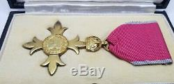 Sterling Silver Order of the British Empire OBE MBE Medal Queen Elizabeth II UK