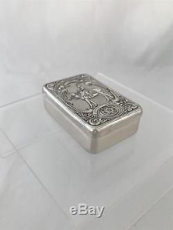 Sterling Silver Queen Elizabeth II Box 1978 London Franklin Mint