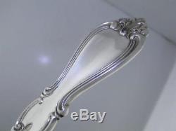 Sterling TOWLE 4 Serving Pieces pierced spoon ladle fork spoon QUEEN ELIZABETH I