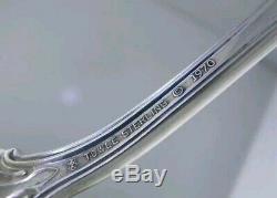 Sterling TOWLE QUEEN ELIZABETH I 4 Serving Pieces pierced spoon ladle fork spoon