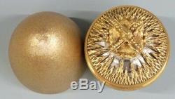 Stuart Devlin Hallmarked Silver Gilt Queen Elizabeth Jubilee Egg Limited