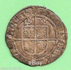 #T35. QUEEN ELIZABETH I SILVER 1578 THREEPENCE PRIZE AWARD FOR 1954 ROYAL VISIT