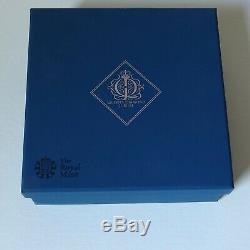 Ten Pounds 2012 Queen Elizabeth II Diamond Jubilee 5oz. Silver Proof