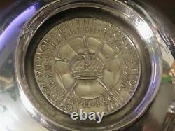 Testavin Queen Elizabeth II Coronation June 2 1953 Two Handle Sterling 4 1/8 1