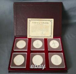 The Cayman Islands 25th Anniversary of Queen Elizabeth 1978 Silver Proof coins