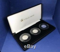 The Queen Elizabeth II 90th Birthday Solid Silver Proof £1 Coin Collection