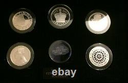The Queen Elizabeth II Longest Reigning Monarch Portrait Coin Collection Silver