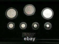 The Queen Elizabeth II Longest Reigning Monarch Portrait Collection Silver coins