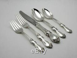 Towle Queen Elizabeth I Sterling Silver 5 Piece Place Setting No Monogram