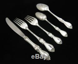 Towle Queen Elizabeth Sterling Silver Five Piece Place Set with Oval Soup Spoon