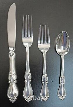 Towle Sterling Queen Elizabeth I 4pc Place Settings UNUSED