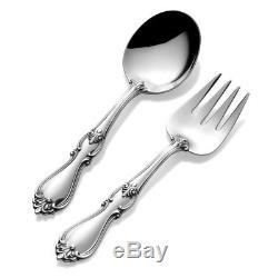 Towle Sterling Silver Queen Elizabeth 2-piece Baby Flatware Set