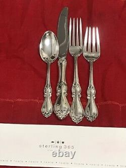 Towle sterling silver 4pc place setting queen elizabeth I New withbox sterling 365