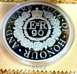 UK Great Britain 2016 Silver Kilo £500 90th Birthday Queen Elizabeth II
