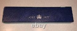 Vintage 1977 M&W Queen Elizabeth II Sterling Silver Letter Opener Silver Jubilee