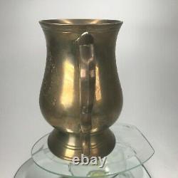 Vintage 1977 The Queens Silver Jubilee Steering Elizabeth Mug E. P. N Brass Cup M1