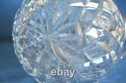 Vintage QUEEN ELIZABETH 1977 Crown Sterling Silver Cut Glass Claret Wine Pitcher