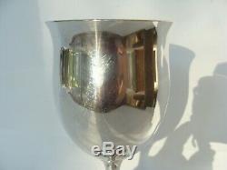 Vintage Reed Barton Sterling Silver Goblet Queen Elizabeth Tulip H120 6 1/4