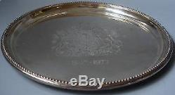 Vintage Silver Queen Elizabeth II Commemorative Dish boxed with certificate