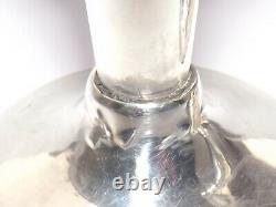 Vintage Solid Silver Sterling Pair Of Candlesticks 11cm, Birmingham 1971