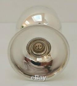 Vtg 1977 Queen Elizabeth QE11 Solid Sterling Silver Gilt Jubilee Goblet & Case