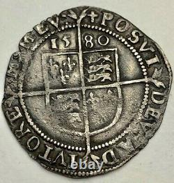 W209 1580 Elizabeth 1st Sixpence a Tudor person not a fan of Queen! Spink 2572