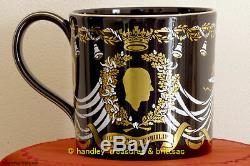Wedgwood Mug Queen Elizabeth 25th Silver Wedding Anniversary Richard Guyatt L. Ed
