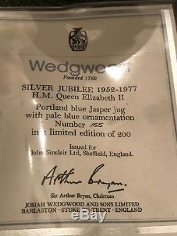 Wedgwood Silver Jubilee 1952-1977 H. M. Queen Elizabeth II, Limited Edition