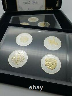 Westminster Coins 500 Silver Queen Elizabeth II Traditional Crown Numismatic Set