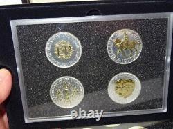 Westminster Mint. 500 Silver Queen Elizabeth II Traditional Crown Numismatic Set