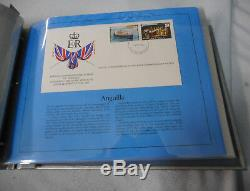 #gg. 1977 Silver Jubilee Commonwealth First Day Covers(52) Queen Elizabeth II